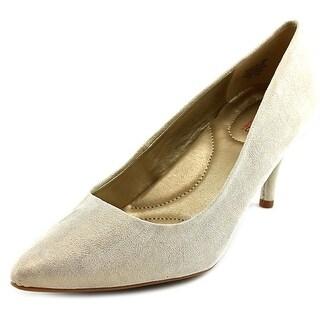 Bandolino Inspire Pointed Toe Suede Heels