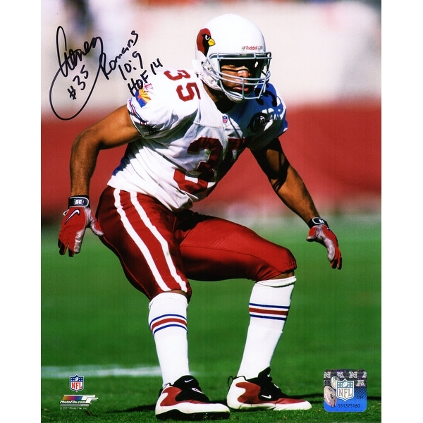 reputable site c3563 9f8ce Aeneas Williams Arizona Cardinals Action 8x10 Photo wHOF14