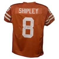 Jordan Shipley Autographed Texas Longhorns Size XL Orange Jersey