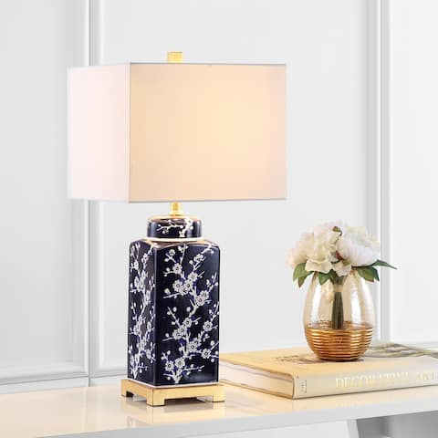 """SAFAVIEH Lighting 26"""" Zora LED Table Lamp (Set of 2)"""