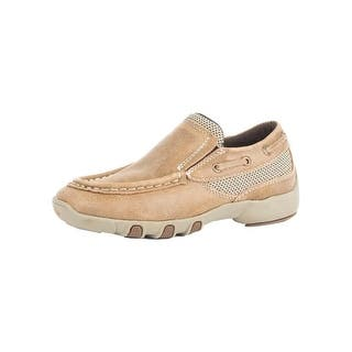 Roper Western Shoes Boys Crew Leather Mesh 09-018-1785-2011 TA|https://ak1.ostkcdn.com/images/products/is/images/direct/ff57c1fb316b7be2bff7ac45398a24be65ee8512/Roper-Western-Shoes-Boys-Crew-Leather-Mesh-09-018-1785-2011-TA.jpg?impolicy=medium