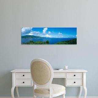Easy Art Prints Panoramic Images's 'British Virgin Islands' Premium Canvas Art
