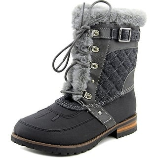 Rock & Candy Danleak Youth Round Toe Synthetic Gray Snow Boot