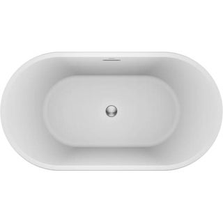 Jacuzzi CEF5932BCXXXX Celeste 59 Inch Soaking Bathtub for Freestanding Installat