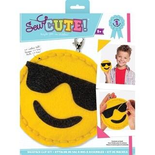 Sew Cute! Mini Felt Kit-Emoji Sunglasses