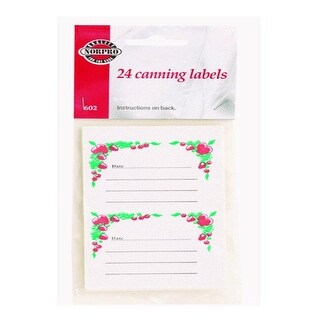 "Norpro 602 Canning Jar Labels, 2.5"" x 2"""