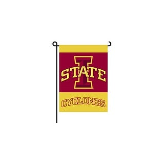 Bsi Products Inc Iowa State Cyclones 2-Sided Garden Flag Garden Flag