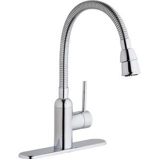 Elkay LK2500 Pursuit Flexible-Spout Single Handle Kitchen/Laundry Faucet