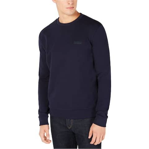 Hugo Boss Mens Backward Logo Sweatshirt, Black, X-Large