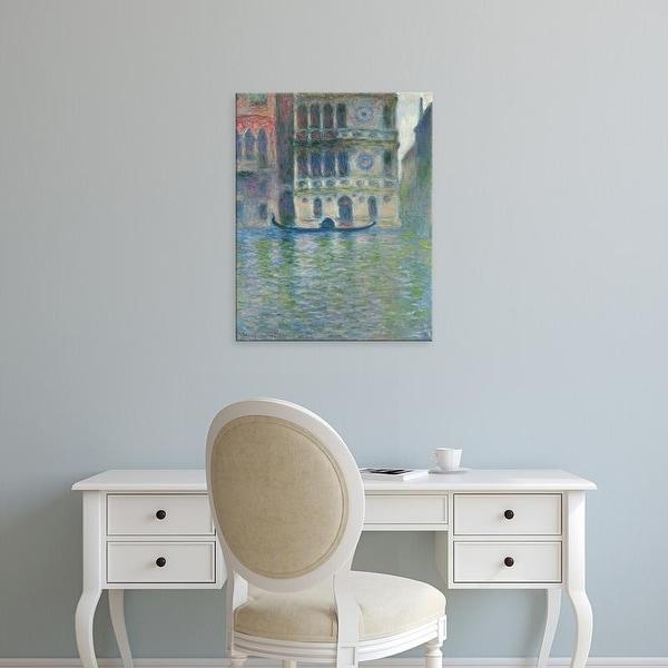 Easy Art Prints Claude Monet's 'Palazzo Dario, Venice' Premium Canvas Art