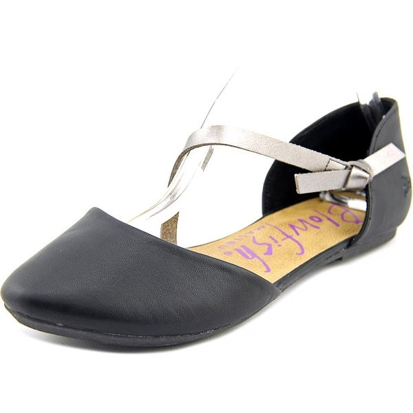 Blowfish Frisky Women Round Toe Synthetic Black Mary Janes