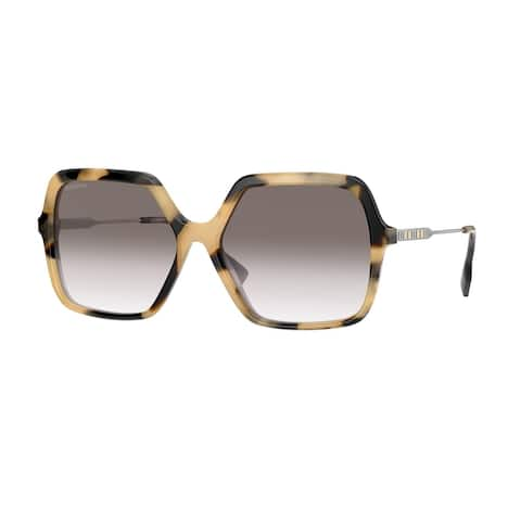 Burberry BE4324 35018E 59 Brown Woman Square Sunglasses