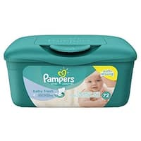 Pampers Baby Wipes Tub Fresh 72