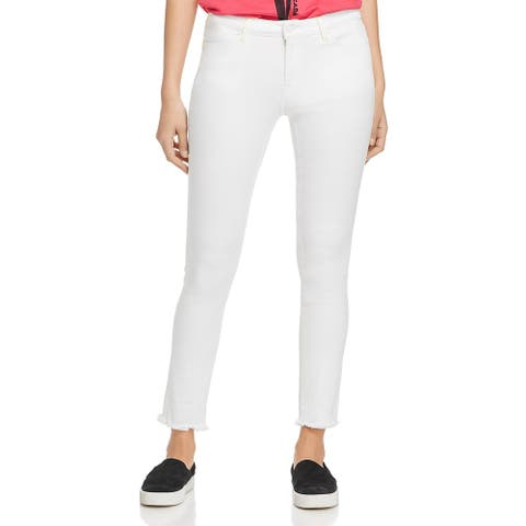 Escada Sport Womens Capri Pants Activewear Fitness - White - 38