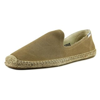 Soludos Smoking Slipper   Round Toe Suede  Espadrille