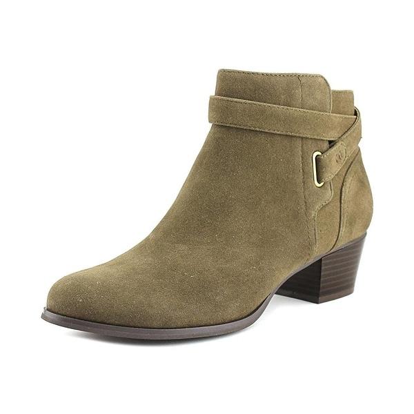 Giani Bernini Oleesia Women Round Toe Synthetic Green Ankle Boot