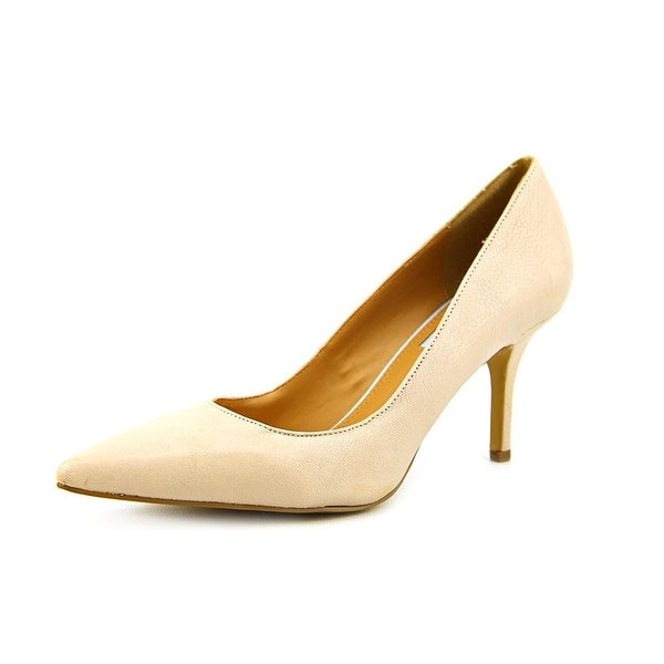Cynthia Rowley Debut Women Pointed Toe Leather Nude Heels