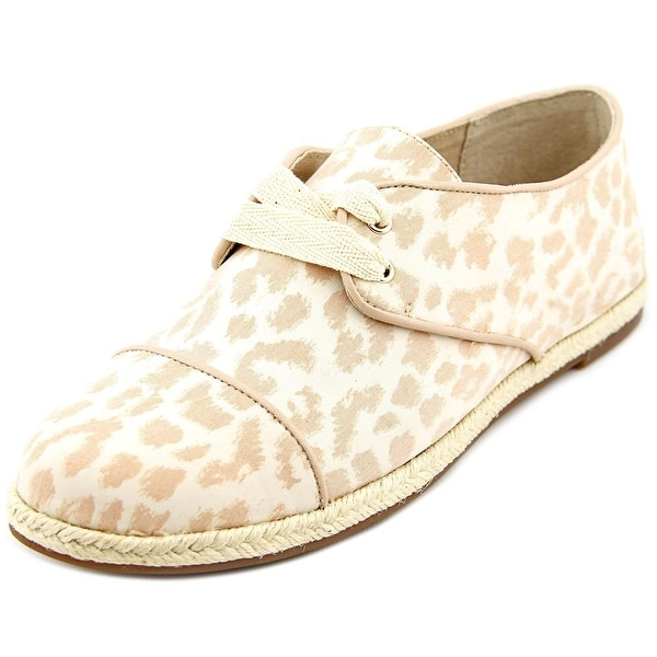 Julianne Hough Ryanne Women Round Toe Canvas Nude Espadrille