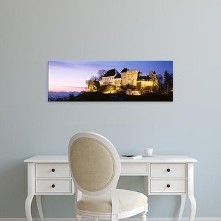 Easy Art Prints Panoramic Images's 'Castle Lenzburg, Switzerland' Premium Canvas Art