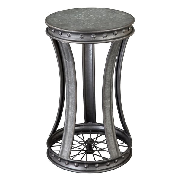 Hekman 27694 14 Inch Wide Metal End Table Special Reserve