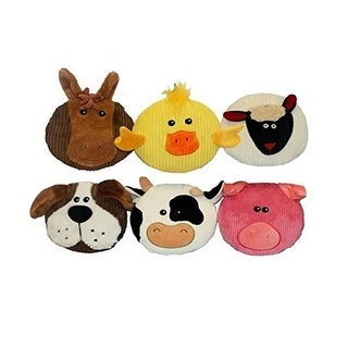 Multipet Sub Woofers 7 Inch Assorted Styles Dog Toy