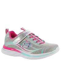 Skechers Kids Girl's Quick Kicks 81291L (Little Kid/Big Kid) Gray/Multi