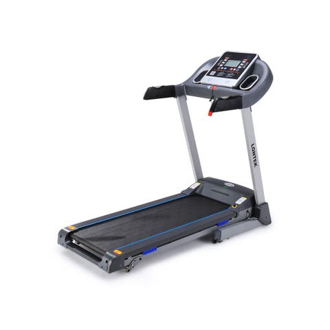 TiramisuBest Folding Treadmill with Incline and Heart Rate Monitor