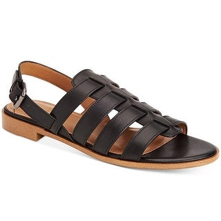 Coach Womens Skyler Leather Open Toe Casual Strappy Sandals
