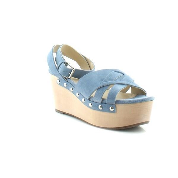Marc Fisher LTD Camilla Women's Sandals Medium Blue - 10