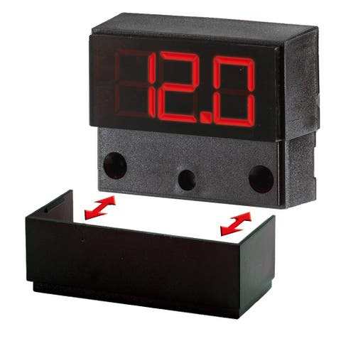 Paneltronics digital meter 12/24 vdc