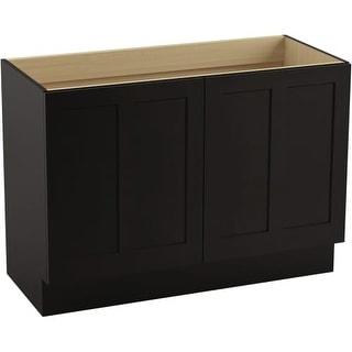 "Kohler K-99534-TK Poplin 48"" Vanity Cabinet Only - Toe Kick Installation Type"