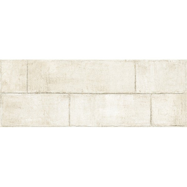 """Emser Tile W86AGEN1747 Agenda - 16-3/4"""" x 46-7/8"""" Rectangle Floor and Wall Tile - Smooth Stone Visual"""