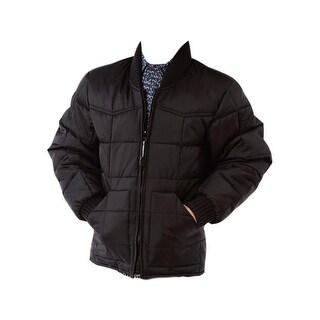 Roper Western Jacket Boys Down-like Fill Rib Knit