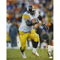 Jerome Bettis Autographed Pittsburgh Steelers 16 x 20 in. Action