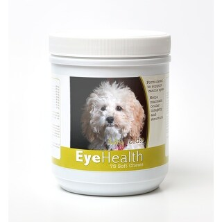 Healthy Breeds Cockapoo Dog Eye Care Support Soft Chews 75 Count