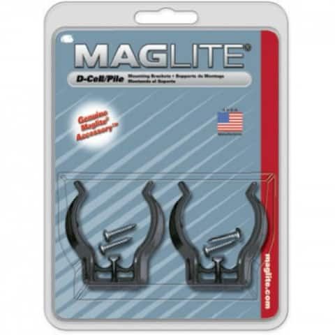Maglite ASXD026 Mounting Bracket Clamp, 2-Pack