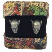 Marvel Cufflinks With Box - Captain America - Color - Silver