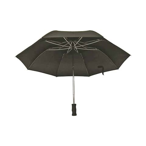 "Diamondback TF-02 Compact Rain Umbrella, 21"", Black"