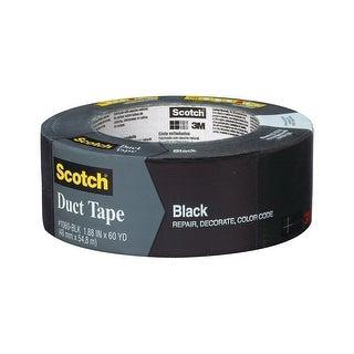 """Scotch 1060-BLK-A Black Duct Tape, 1.88"""" x 60-Yard"""