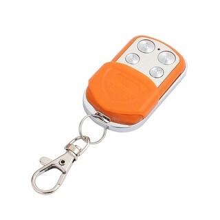 100M 4 Keys Waterproof Car Anti-theft Alarm Digital Remote Controller Orange