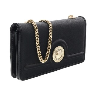 Versace EE3VRBPL2 Black Wallet on Chain - 7.5-4.5-1