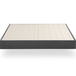 Link to Priage by ZINUS Upholstered Metal Box Spring with Wood Slats, 9 Inch Mattress Foundation Similar Items in Bedroom Furniture