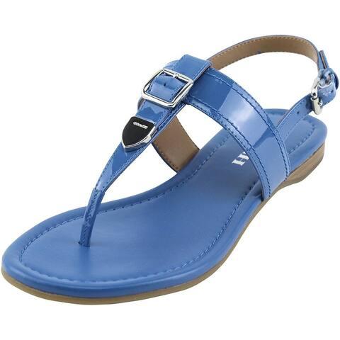 e918b9269fe Coach Womens Cassidy Open Toe Casual T-Strap Sandals