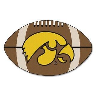 """Iowa Football Rug 22""""x35"""""""