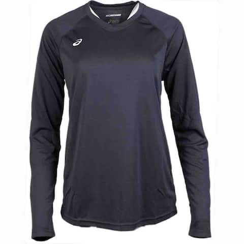 Asics Womens Circuit 8 Long Sleeve Athletic T-Shirt