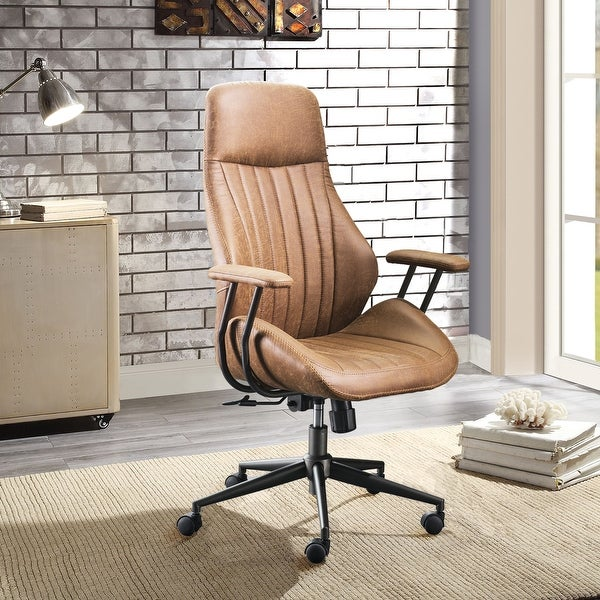 OVIOS Ergonomic Office Chair Modern Computer Desk Chair high Back Suede Fabric Desk Chair with Lumbar Support. Opens flyout.