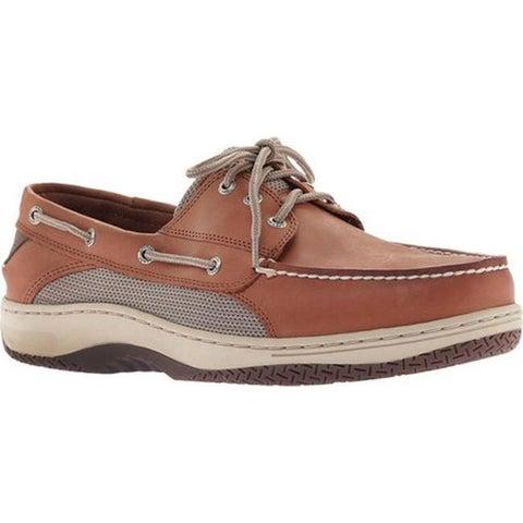 Sperry Top-Sider Men's Billfish 3-Eye Boat Shoe Dark Tan