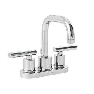Symmons SLC-3512-1.5 Dia Centerset Bathroom Faucet - Includes Metal Drain Assembly - n/a