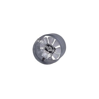 Canarm DA6V 295 CFM 2.4 Sone 2 Speed In-Line Boosted Duct Exhaust Fan
