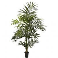 Nearly Natural 5335 7 in. Kentia Palm Silk Tree